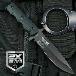 """9"""" Navy SEALs Tactical Combat Bowie Knife w/SHEATH Military"""