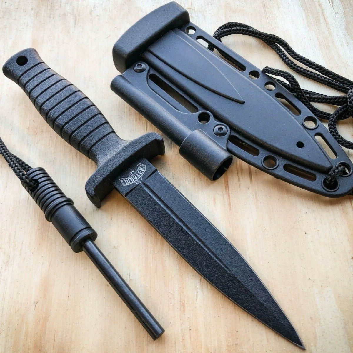 7 double edge military tactical hunting dagger